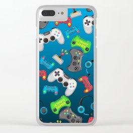Video Games Clear iPhone Case