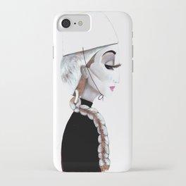 L'eleganza del riccio iPhone Case
