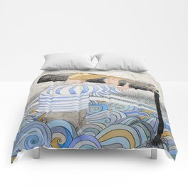 L'ancre en point d'attache. Comforters