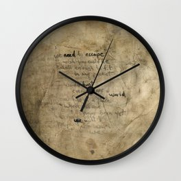 We need to escape Wall Clock