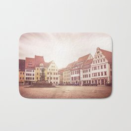 Freiberg, Germany Town Square Bath Mat