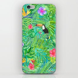 Foret tropicale iPhone Skin
