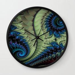 Fractal Abstract 87 Wall Clock