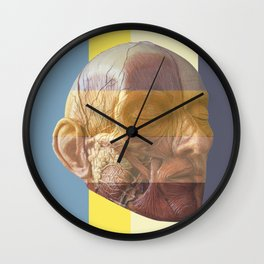 French Counrty Breakfast (anatomy) Wall Clock