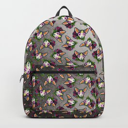 Chihuahua in Moo - Day of the Dead Sugar Skull Dog Backpack