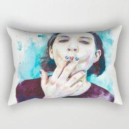 25th frame of my mind (Brian Molko) Rectangular Pillow