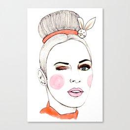 Beauty Portrait 4 Canvas Print
