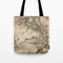 Bo Plays the Qin Tote Bag