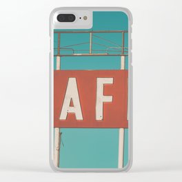 Old 66 Clear iPhone Case