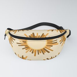 Art Deco Starburst Fanny Pack