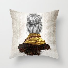 Batik Throw Pillow