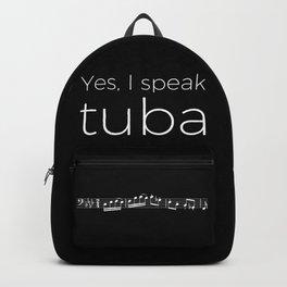 Yes, I speak tuba Backpack