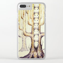 In the trees they live Clear iPhone Case