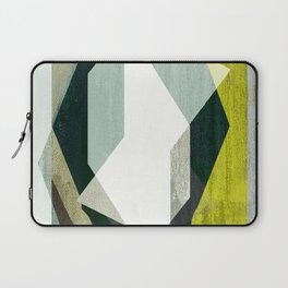 modern mid century, Graphic art, neutral colors, geometric art, circles, modern painting, abstract Laptop Sleeve