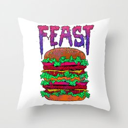 FEAST Throw Pillow