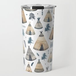 Tepees! Travel Mug