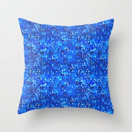 Strong Rain Throw Pillow