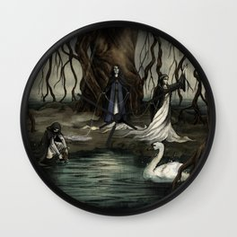The Norns Wall Clock