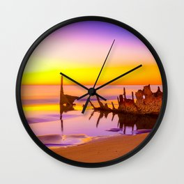 Shipwreck SS Dicky Rainbow Wall Clock