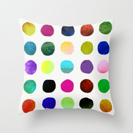 Dots and Spots Throw Pillow