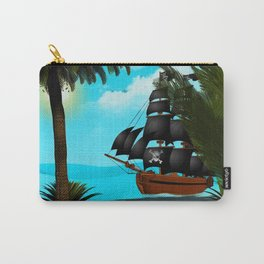 Turquoise Seas Carry-All Pouch