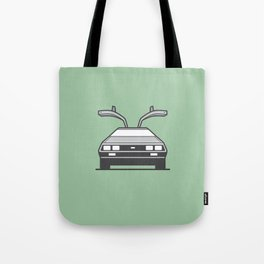 #4 Delorean Tote Bag