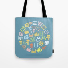 Cinema circle Tote Bag