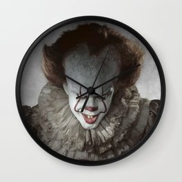 Pennywise The Clown Wall Clock