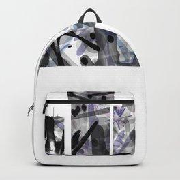 Atlantic City B&W - Splatter Backpack