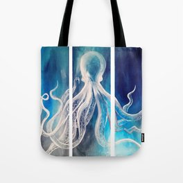Octopus Tryptic Tote Bag