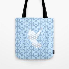 Peace, Freedom. Tote Bag