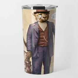 "One Cool Cat: ""Well . . . Hello, kitties!"" Travel Mug"