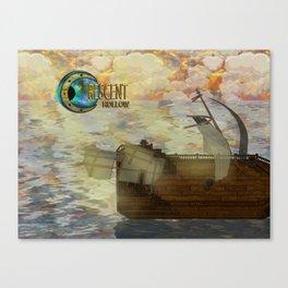 Crescent Hollow Sail Away 2 Canvas Print