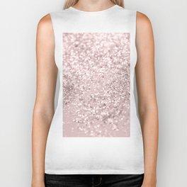 Blush Glitter Dream #1 #shiny #decor #art #society6 Biker Tank