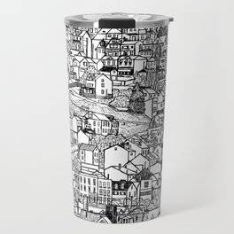Southside Slopes, Pittsburgh, PA Travel Mug