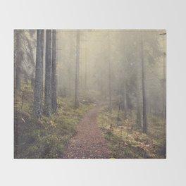 Norwegian Woods Throw Blanket