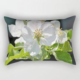 Apple tree in bloom Rectangular Pillow