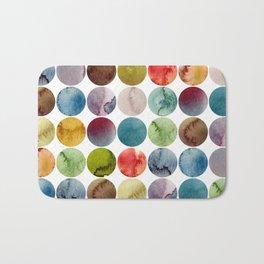 Paint pattern Bath Mat