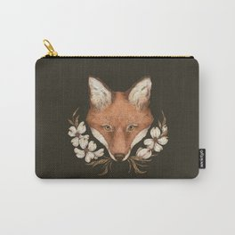 The Fox and Dogwoods Carry-All Pouch