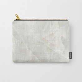 Cracked Crystal Marble Texture Carry-All Pouch