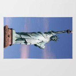 Statue of liberty Photograph Rug