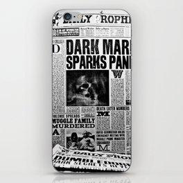 Daily Prophet newspaper iPhone Skin