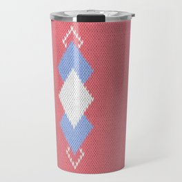 Wool diamonds 01  Travel Mug