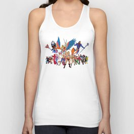 Master of the Universe - He Man & She Ra Unisex Tank Top