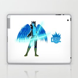 Luc Ready for Battle (No Background) Laptop & iPad Skin