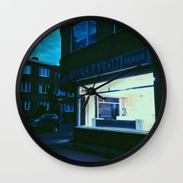 Hopper in Berchem Wall Clock