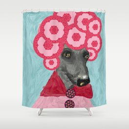 Frida in bloom Shower Curtain
