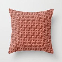 Braided Dots 1 Throw Pillow