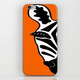 Two Face Zebra iPhone Skin