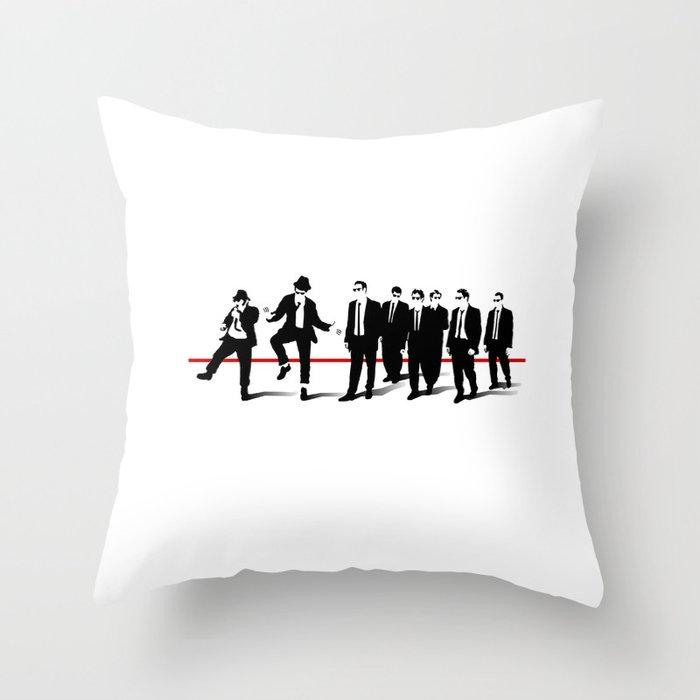 Reservoir Brothers Throw Pillow